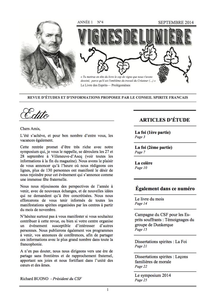 Couverture d'ouvrage: Vignes de Lumière - 4