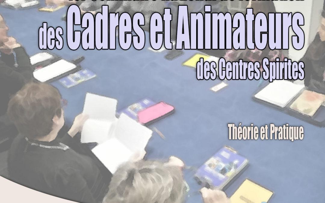 Ouverture des inscriptions pour le 1er séminaire de formation des animateurs et cadres